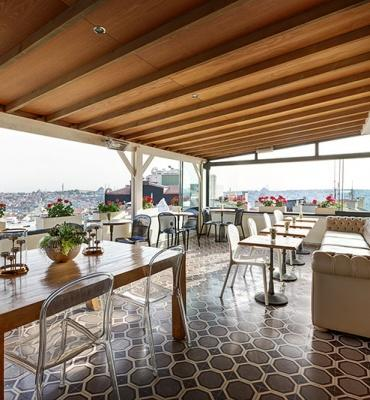 Galata Antique Hotel –  Roof Terrace