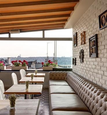 Galata Antique Hotel– Terraza de la azotea