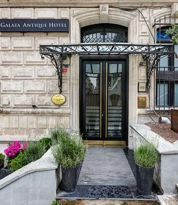 Galata Antique Hotel – Eingang